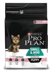 Purina Pro Plan Small & Mini Puppy Sensitive Skin Optiderma 3kg