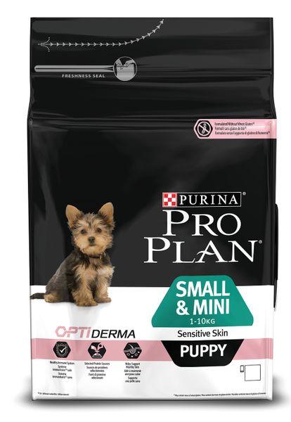 Purina Pro Plan Small & Mini Puppy Sensitive Skin 3kg