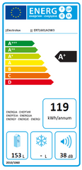 Electrolux chłodziarka ERT1601AOW3