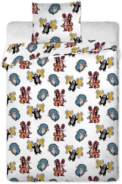 Jerry Fabrics Povlečení Krteček kids bavlna 90/130, 60/40 cm