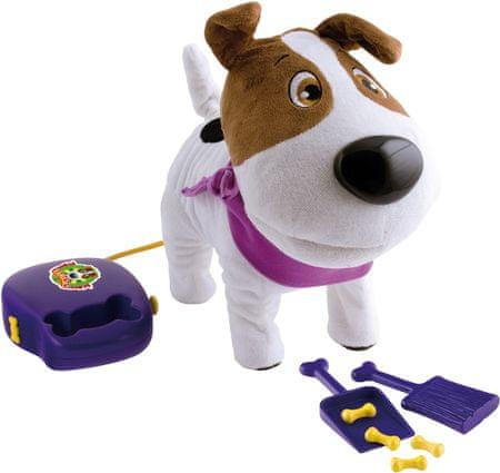 Mikro hračky Cacamax Multifunkcionális plüss kutya