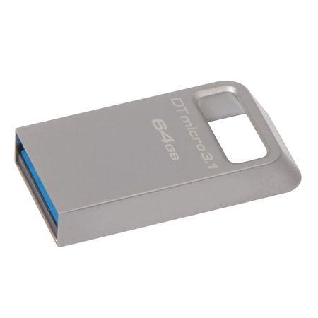 Kingston USB ključ DataTraveler Micro 3.1, 64 GB