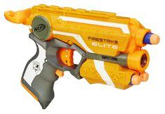 NERF Pistolet Elite z laserowym celownikiem