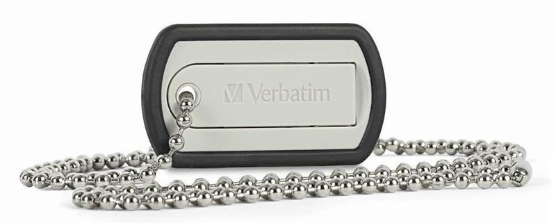 Verbatim store 'n' go Dog Tag 16 GB, černý (98671)