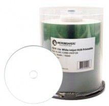 CD-R za tiskanje inkjet, beli (pakirano po 100 kos)