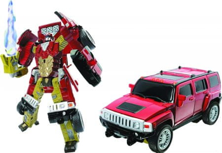 Happy Well robot transformer, Hummer H3
