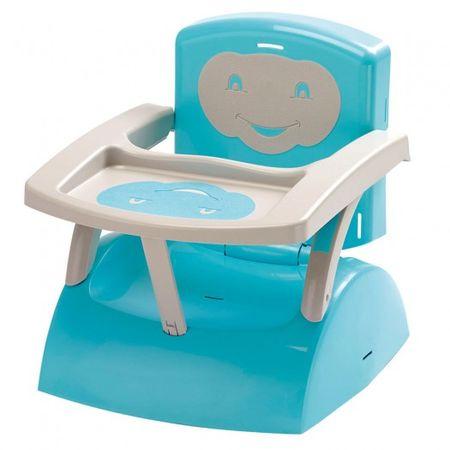 ThermoBaby stolček za hranjenje, zložljiv, modro-bel