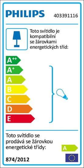 Philips Závěsné zářivkové svítidlo 40339/11/16