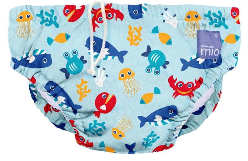 Bambinomio Koupací kalhotky NEW - Deep Sea Bluevelikost XL