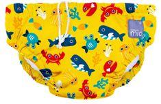 Bambinomio majtki kąpielowe NEW - Deep Sea Yellow, rozmiar XL