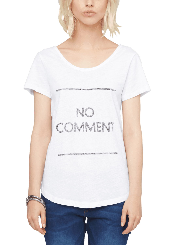 s.Oliver T-shirt damski 34 biały
