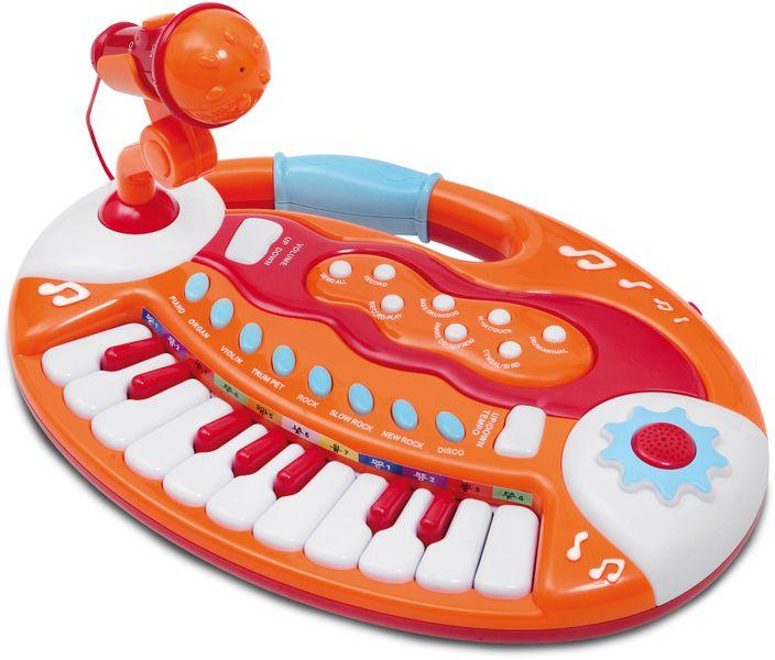 Bontempi Elektronické klávesy s mikrofonem, 18 kláves