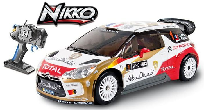 Nikko RC Citroen DS3 WRC 1:16