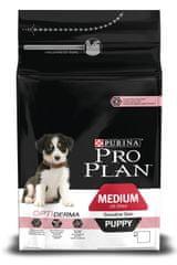 Purina Pro Plan Hrana za mladiče srednjih pasem z občutljivo kožo 1,5 kg
