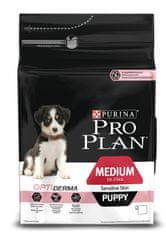Purina Pro Plan Medium Puppy Sensitive Skin Optiderma 3 kg