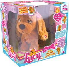 Mikro hračky Lucy, interaktív kutya
