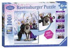 Ravensburger Puzzle Kraina lodu Frozen 100 el. XXL