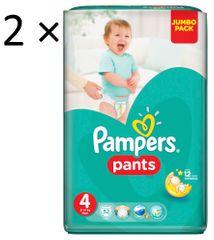 Pampers ActivePants 4 Maxi Jumbo Pack 2 × 52 ks