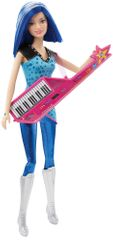 Mattel Barbie Rockerka modré vlasy