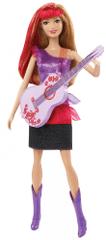 Mattel Barbie Rockerka červené vlasy