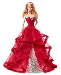 Barbie Vianočná zberateľská bábika