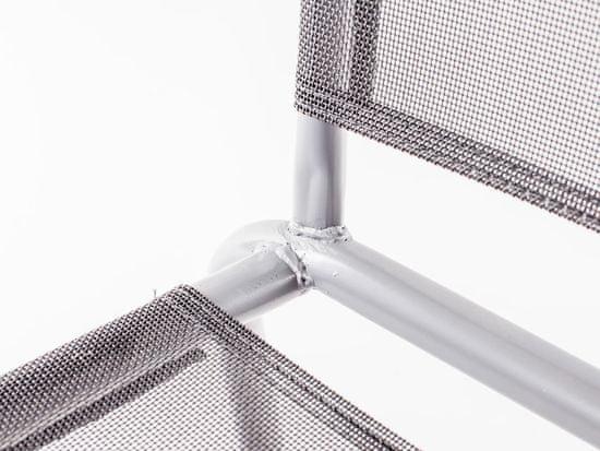 Happy Green Ocelové křesílko textilen - antracit