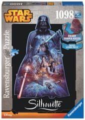 Ravensburger Star Wars Sylwetka Puzzle Darth Vader
