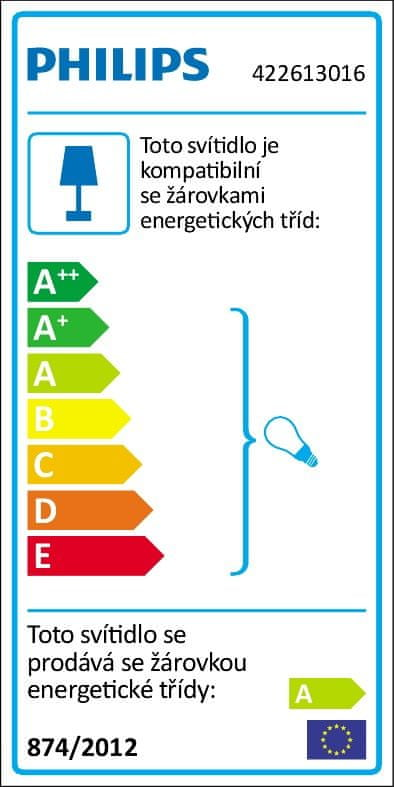 Philips Stojací lampa Drin 42261/30/16
