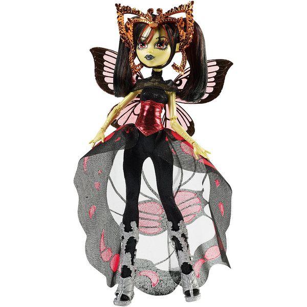 Monster High Boo York hvězdné příšerky Luna Mothews