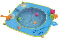 Ludi Składany basen na plażę 72x72x16 cm