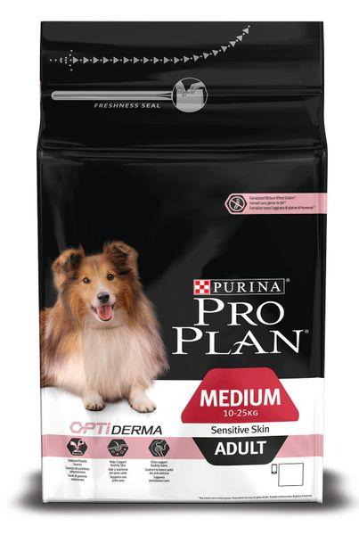 Purina Pro Plan Medium Adult Sensitive Skin 1,5kg