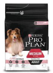 Purina Pro Plan Medium Adult Sensitive Skin Optiderma 3kg