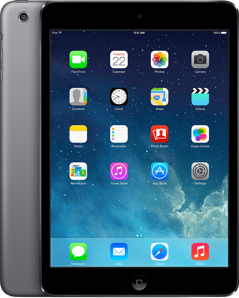 Apple iPad Mini 2 Wi-Fi 32GB Space Gray (ME277SL/A)