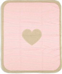 David Fussenegger JUWEL baba pokróc 70 x 90 cm, Rózsaszín