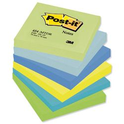 3M Post-it samolepilni lističi DELIGHTED 654-MT, 76 x 76