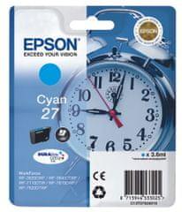 Epson Singlepack Cyan 27 DURABrite Ultra Ink (C13T27024010)