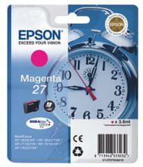 Epson Singlepack Magenta 27 DURABrite Ultra Ink (C13T27034010)
