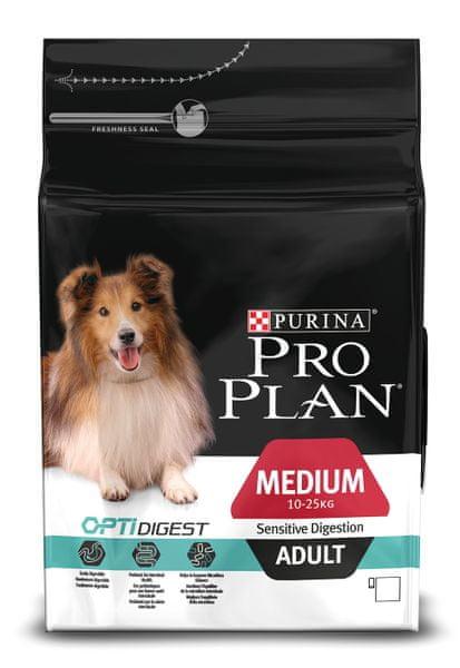 Purina Pro Plan Medium Adult Sensitive Digestion 3kg