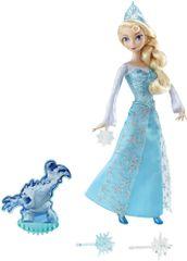 Mattel Jégvarázs Elsa baba világító hógömbbel