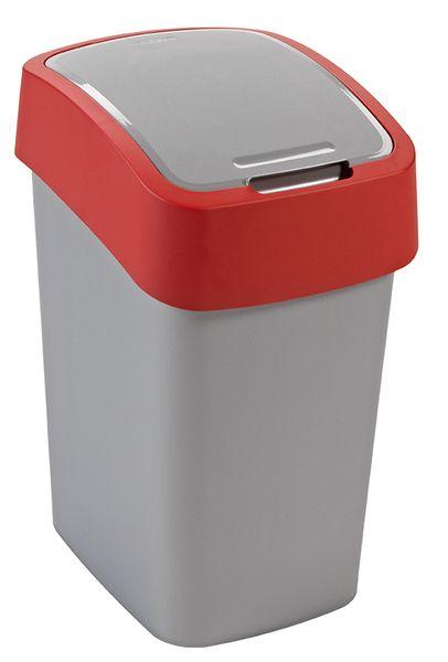 Curver Odpadkový koš Flip Bin 25 l červený