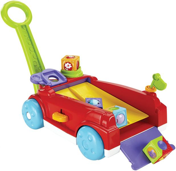 Fisher-Price Vozík s kostkami