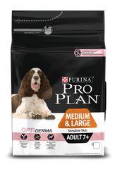 Purina Pro Plan Medium & Large Adult 7+ Sensitive Skin Optiderma 3kg