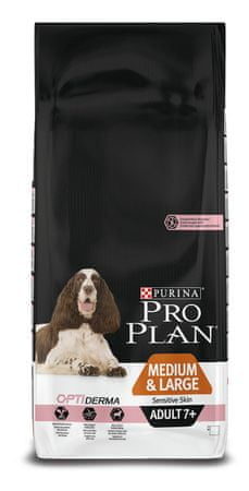 purina pro plan medium large adult 7 sensitive skin optiderma 14kg mall pl. Black Bedroom Furniture Sets. Home Design Ideas