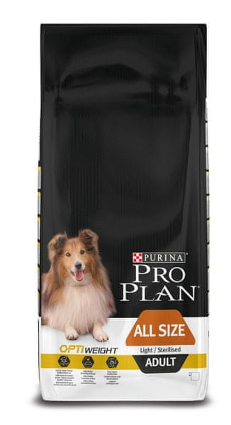 Purina Pro Plan All Size Adult Light/Sterilised 14kg