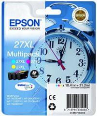 Epson Multipack 3-colour 27XL DURABrite Ultra Ink (C13T27154010)