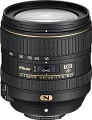 Nikon Nikkor AF-S 16-80 mm f/2,8-4E ED VR - rozbalené