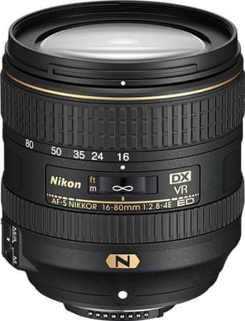 Nikon objektiv Nikkor AF-S DX 16-80mm/1:2,8-4E ED VR