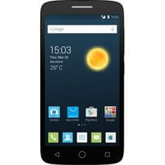 Alcatel One Touch 7043K POP 2, 5, černý + 3 x kryt