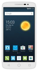 Alcatel One Touch 7043K POP 2, 5, bílý + 3 x kryt