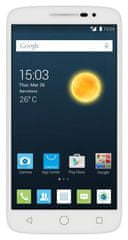 Alcatel One Touch 7044X POP 2, 5, PREMIUM, bílý